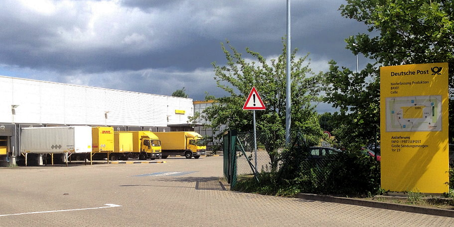 DHL in Celle