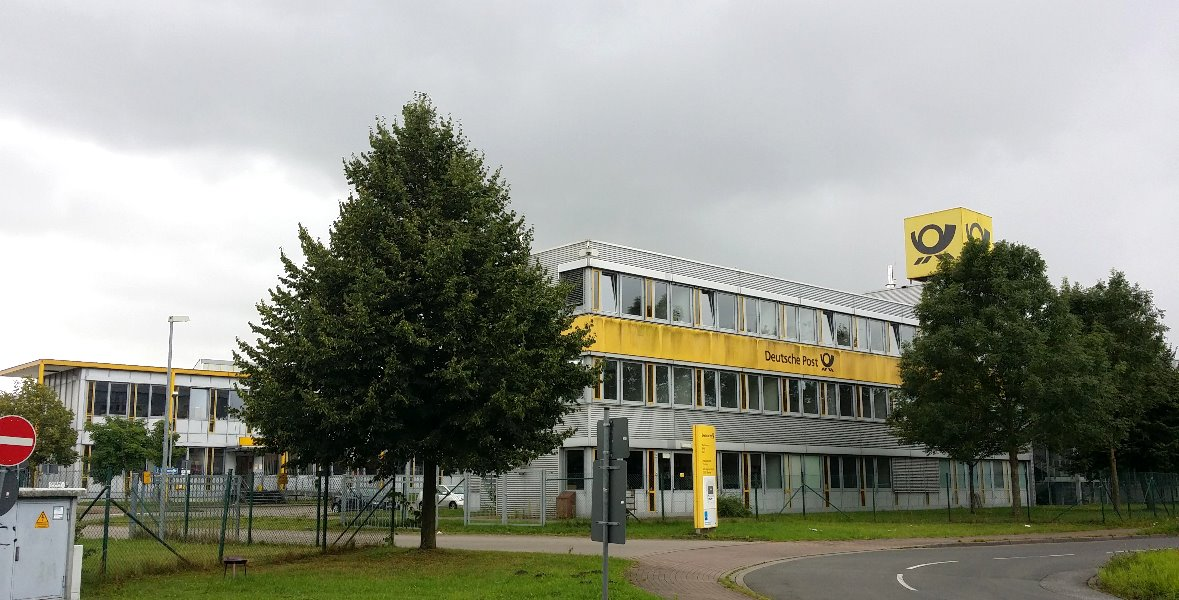 Deutsche Post Logistikzentrum in Elmshorn