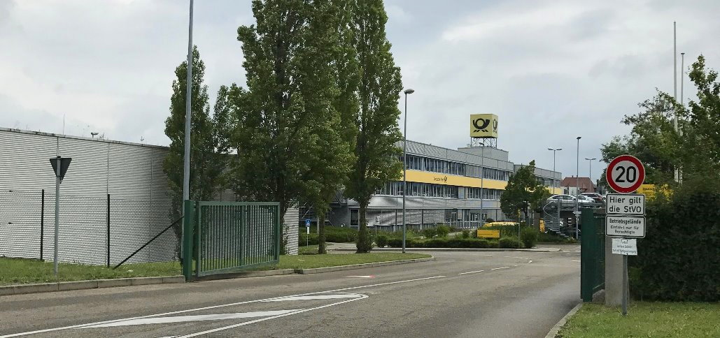 Deutsche Post in Waiblingen