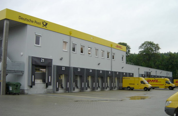 dhl zustellbasis in f rstenfeldbruck paketzentrum von dhl. Black Bedroom Furniture Sets. Home Design Ideas