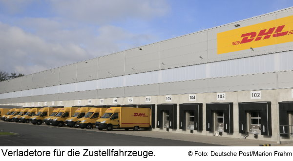 zustellbasis von dhl in glinde paketzentrum von dhl. Black Bedroom Furniture Sets. Home Design Ideas