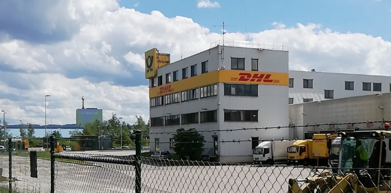 dhl deutsche post in hagen nationales paketzentrum von dhl. Black Bedroom Furniture Sets. Home Design Ideas
