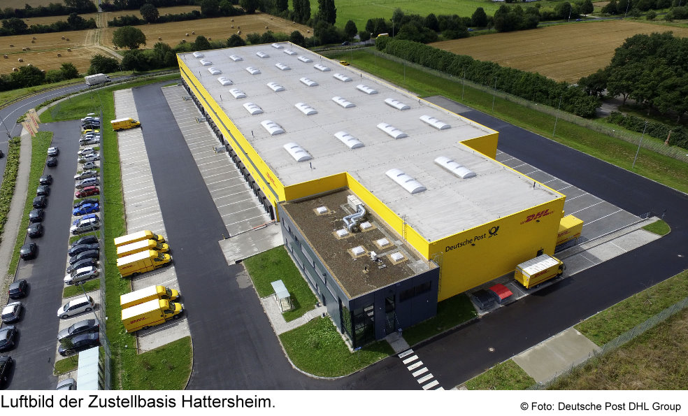 dhl zustellbasis in hattersheim paketzentrum von dhl. Black Bedroom Furniture Sets. Home Design Ideas