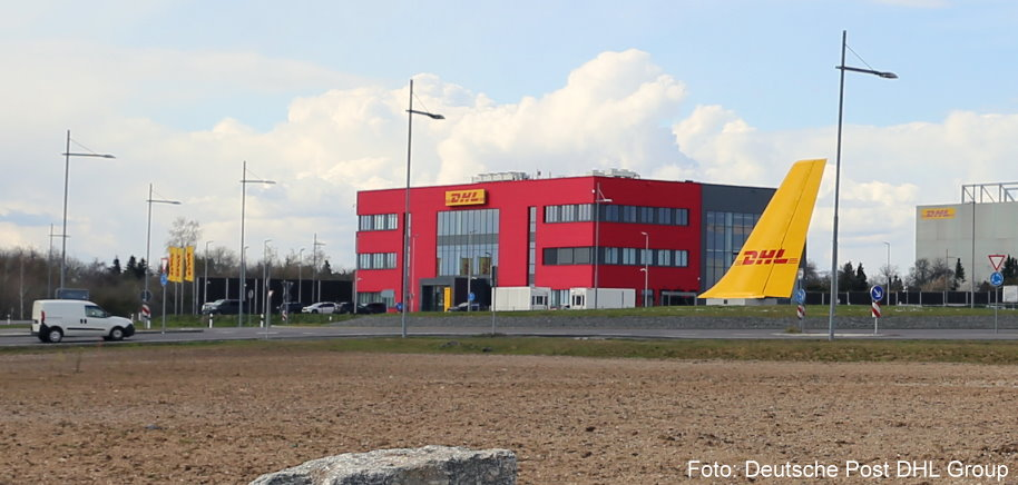 DHL Express in Leipzig