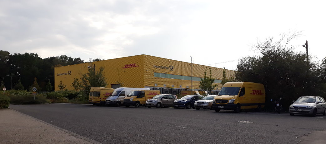 DHL Zustellbasis in Ratingen Lintorf