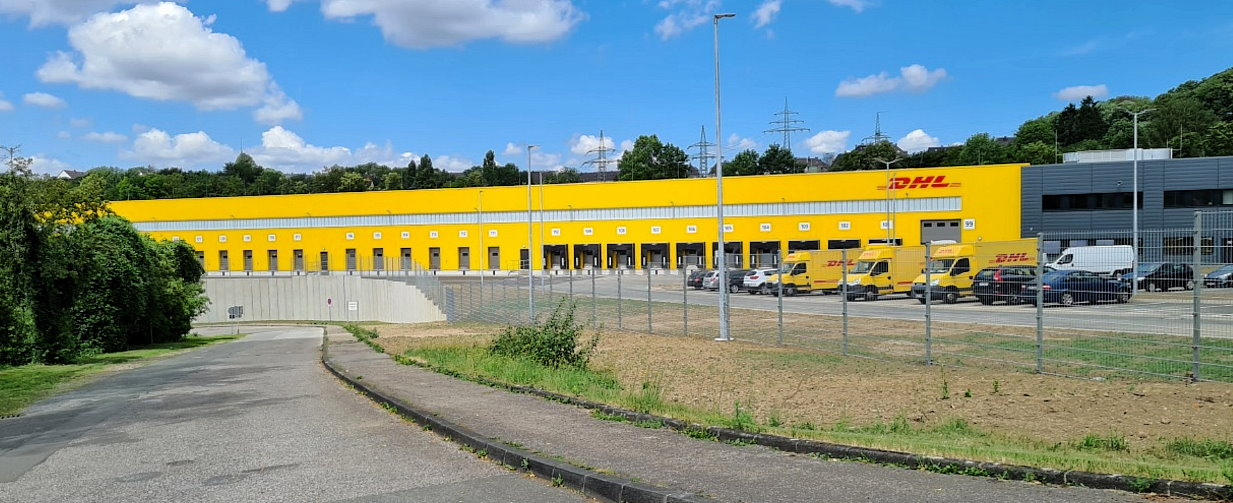 DHL MechZB in Wuppertal