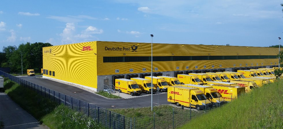 dhl zustellbasis in wuppertal paketzentrum von dhl. Black Bedroom Furniture Sets. Home Design Ideas