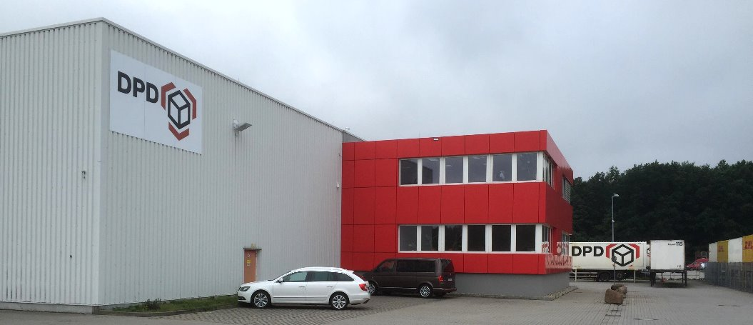 Dpd paketzentrum in mittenwalde dpd paketzentrum for Gls depot berlin