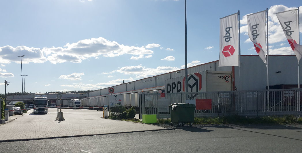DPD Paketzentrum in Wilnsdorf