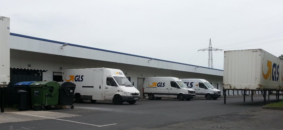 Gls paketzentrum in nuthetal paketzentrum for Gls depot berlin
