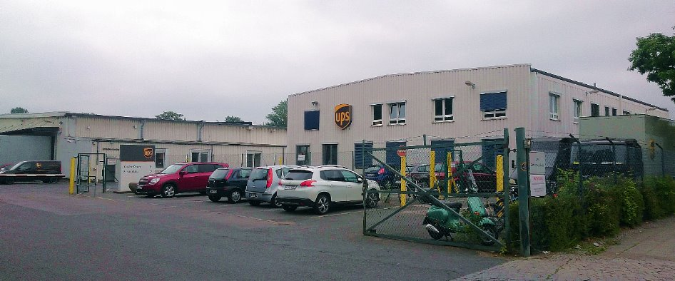 Ups berlin city reinickendorf ups paketzentrum for Gls depot berlin