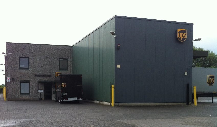 ups depot kiel ups paketzentrum. Black Bedroom Furniture Sets. Home Design Ideas