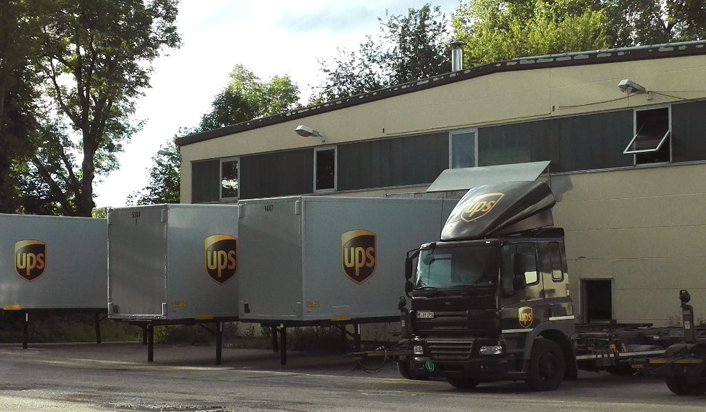 ups depot ulm ups paketzentrum. Black Bedroom Furniture Sets. Home Design Ideas