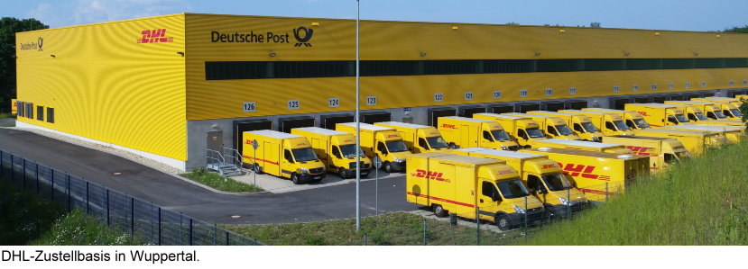 DHL Zustellbasis in Wuppertal